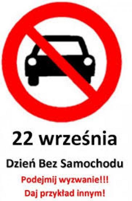 22 września - Dzień bez samochodu także u nas